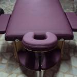 Çanta tipi masaj masası ahşap reiki için uygun yüksekli ayarlı