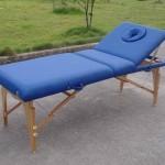 masaj masası ahşap baş tarafı ayarlanabilir