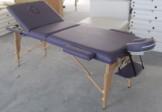 Çanta Tipi Masaj Masası Ahşap Mor Renk No: 301