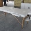 Çanta Tipi Masaj Masası Ahşap Beyaz Renk No: 201