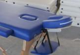 Çanta Tipi Masaj Masası Ahşap Mavi Renk No: 201