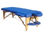 Çanta Tipi Masaj Masası (Ahşap) Katlanabilir Mavi No:101